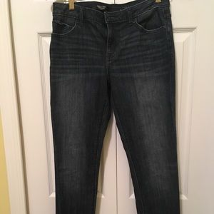 Straight leg denim jeans by Vera Wang
